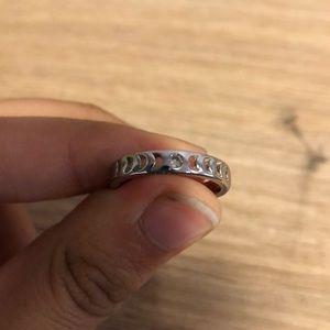 Designed sliver ring